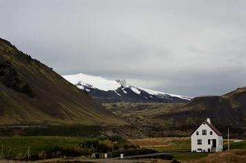 Lebens am Fuss eines Vulkans