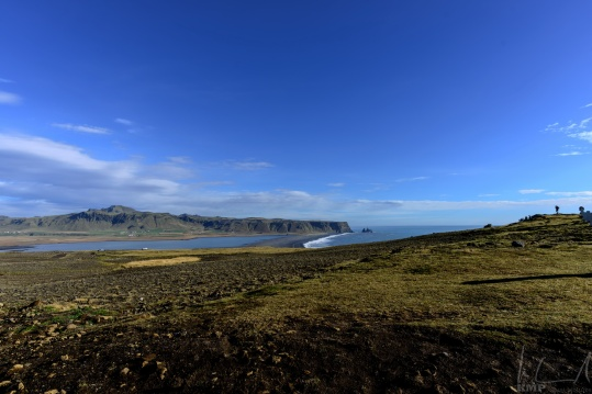 Blick Richtung Osten von Dyrhólaey aus