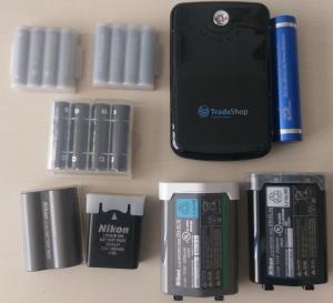 entfernte Akkus & Batterien