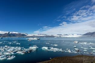 Die grosse Gletscherlagune