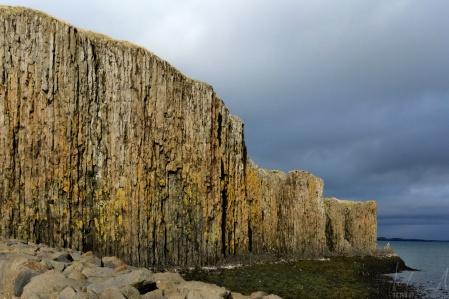 Die Halbinsel vor dem Hafen von Stykkishólmur