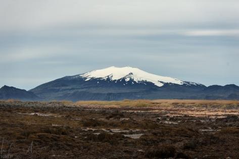 Einer von vielen Vulkane Islands