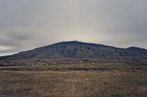 Vulkan mit altem Lavafeld