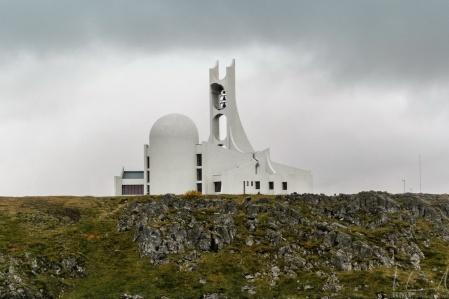 Die Kirche von Stykkishólmur