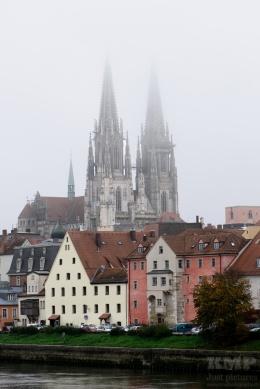 Die Regensburger Altstadt mit dem Dom