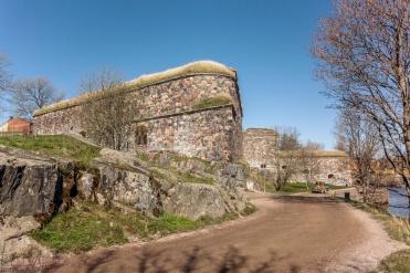 Befestigungen auf Suomenlinna