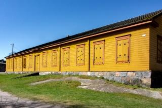 Barracken auf Suomenlinna