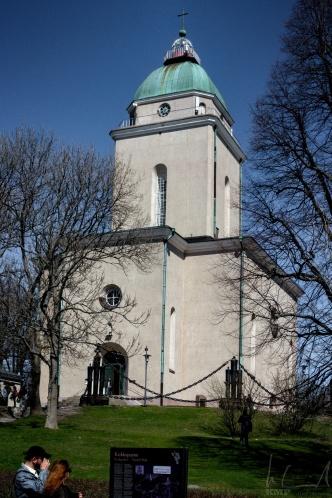 Kirche auf Suomenlinna