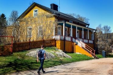 Wohnhaus auf Suomenlinna