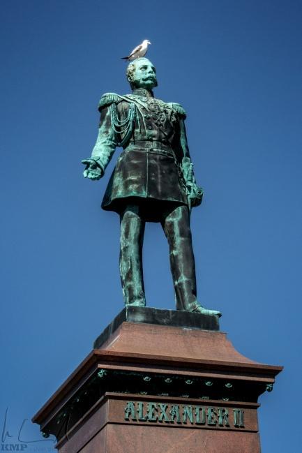 Statue von Zar Alexander II