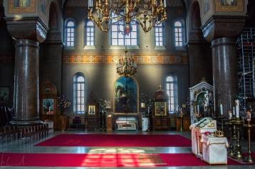 Im Innern der Uspenski Kathedrale