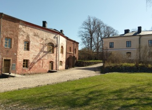 Wohnhäuser im Innern der Festung