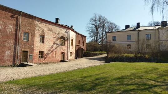 Im Innern der Festung Suomenlinna