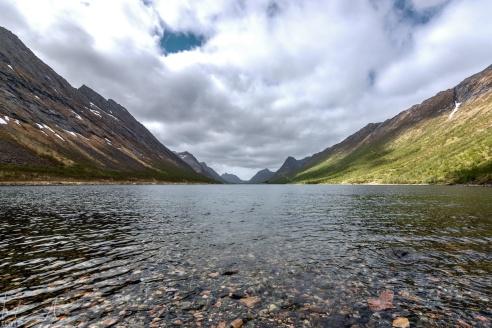 Am Ende des Gryllefjord