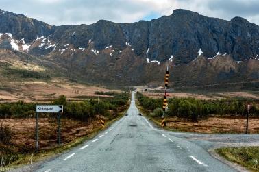 Strasse nach Gryllefjord
