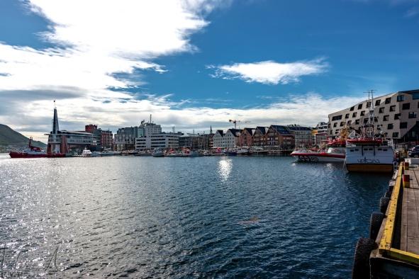 Hafen von Tromsø