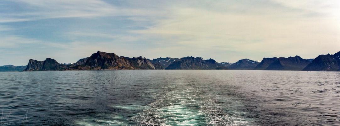 Auf der Fähre nach Andøya