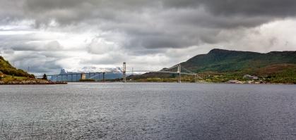 Tjeldsund-Brücke bei Evenskjer