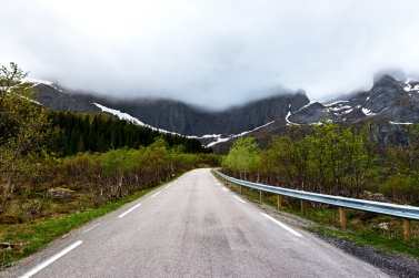 On the road nach Nusfjord