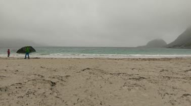 Sandstrand von Haukland