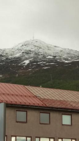 DEr Winter ist noch nicht so weit weg in Narvik