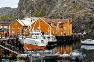 Der Hafen von Nusfjord