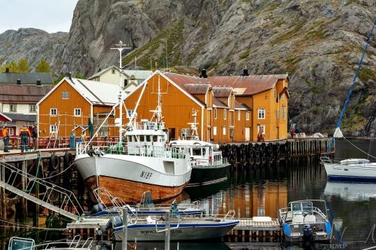 Hafen von Nusfjord