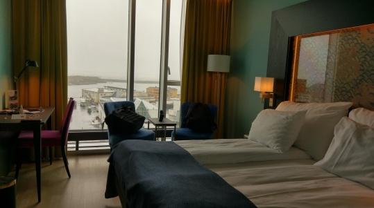 Mein Zimmer im Thon Hotel Lofoten in Svolvær