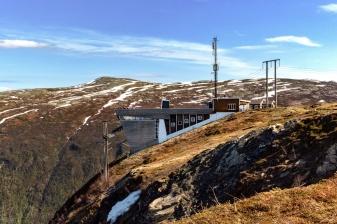 Bergstation der Fjellheisen-Seilbahn