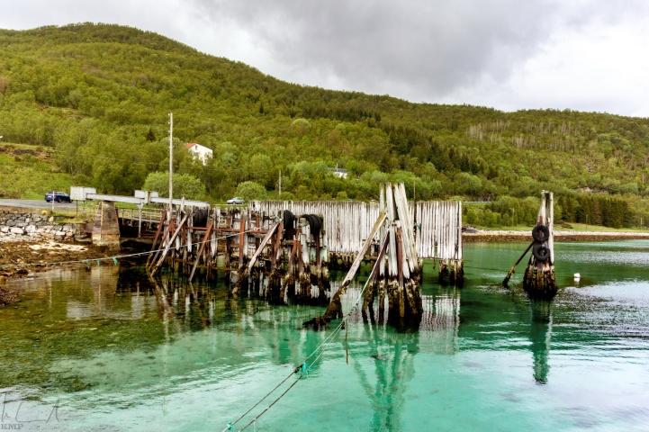 alte Fähranlegestelle bei Evenskjer