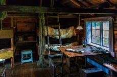 Lofotenmuseum Storvåg: Im innern einer Fischerhütte