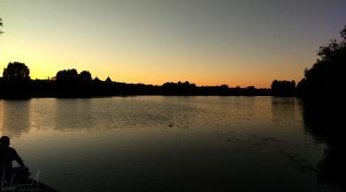 Abenddämmerung am Sankt Jørgens Sø
