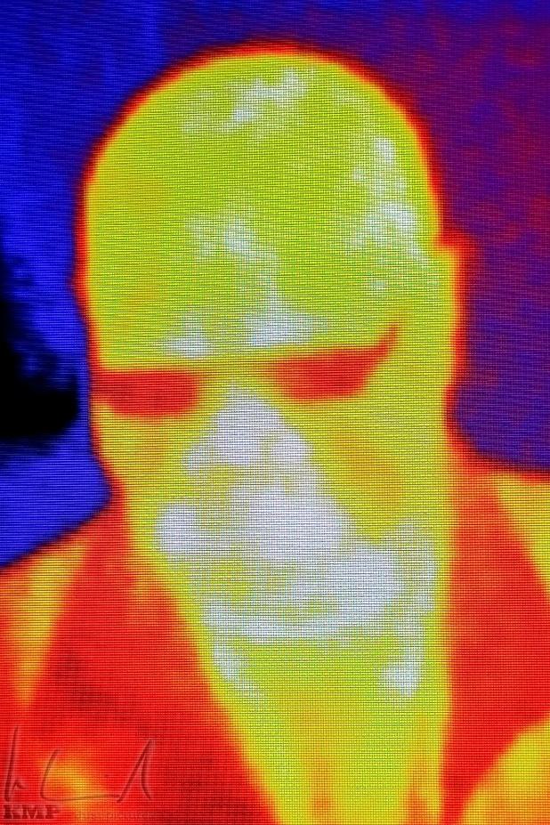 IR Selfie im Tycho Brahe Planetarium