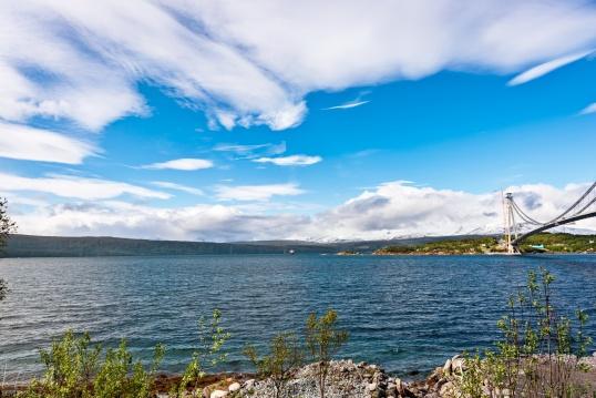 Am Rombaksfjord bei Narvik