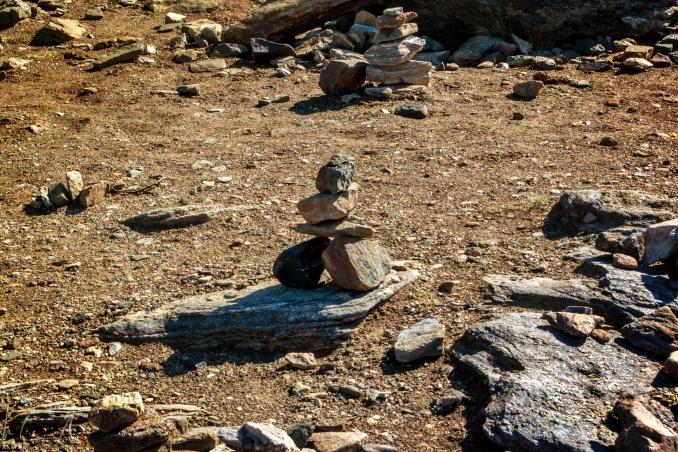 Steinmännchen auf Storsteinen