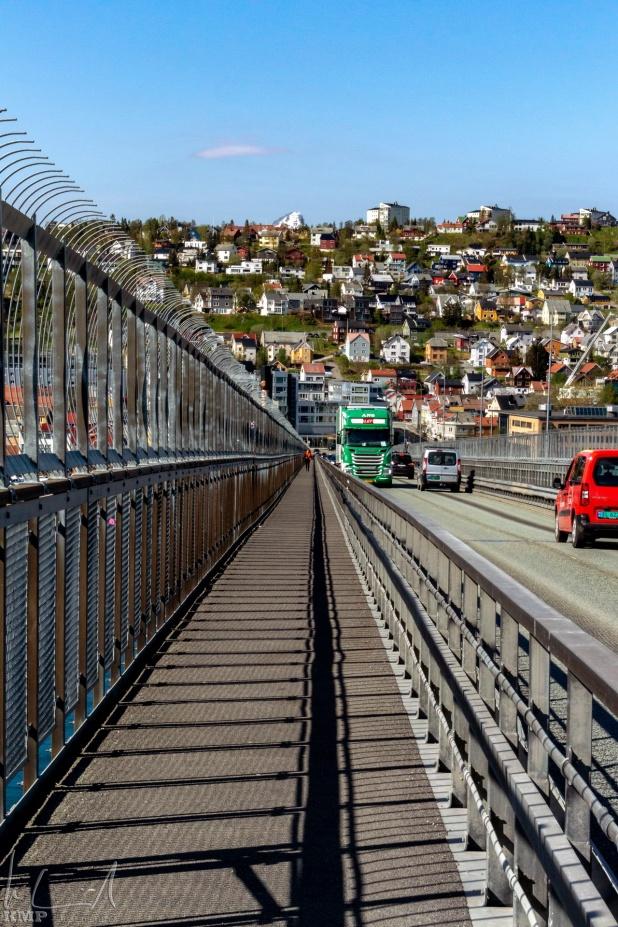 Fussweg auf der Tromsøbrua