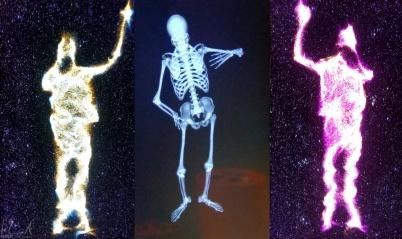 Spielerei mit verschiedenen Effekten im Tycho Brahe Planetarium
