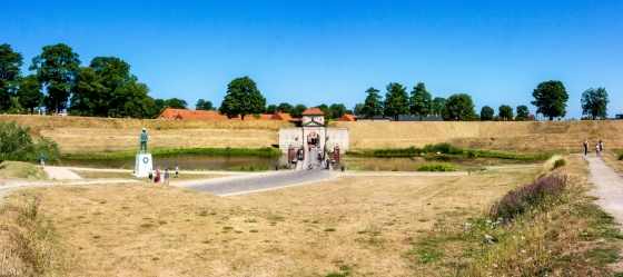 südliches Tor ins Kastell