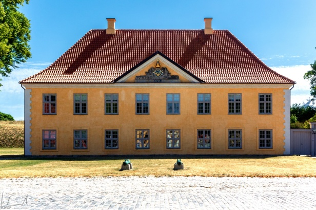 Kaserne im Kastell