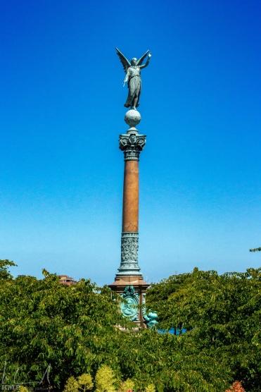Iver Huitfeldt Memorial im Langelinie Park