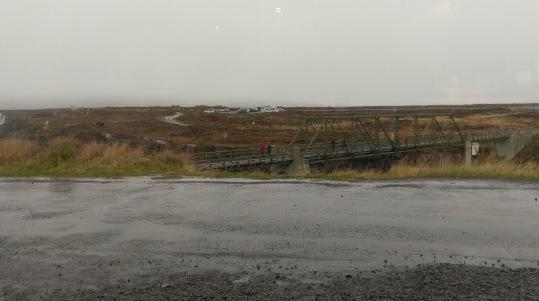 Regen beim Geitafoss