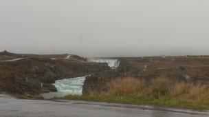 Regen beim Geitafoss & Godafoss