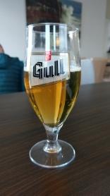 Erst einmal ein isländisches Bier