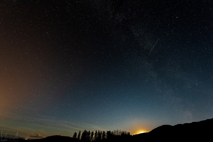 Sternenhimmel über Skalholt