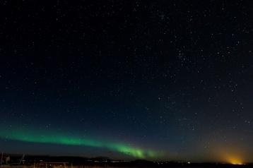 Nordlichter über Reykholt