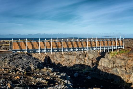 Miðlína, die Brücke von Europa nach Amerika