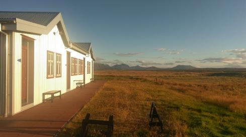 Ein sonniger Morgen beim Sel Guesthouse