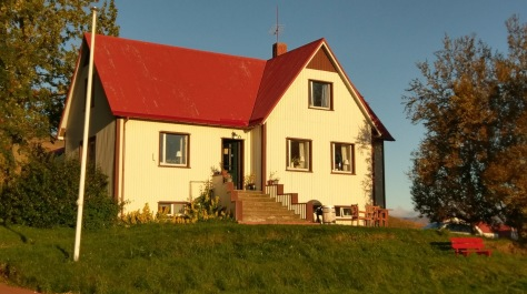 Sel Guesthouse in der Morgensonne