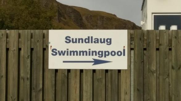 Das öffentliche Bad in Kirkjubæjarklaustur