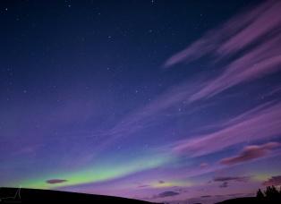 Nordlichter über Laugar